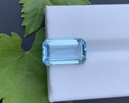 AAA Grade 4.70 ct Santa Maria Color Aquamarine