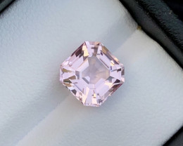 Baby Pink 3.45 Ct Natural Tourmaline From Afghanistan