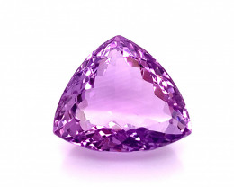 No Reserve 19.65 Cts  Top color Fancy cut Natural  Amethyst Gemstone