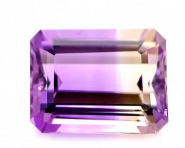 No Reserve 8.70 Cts  FALWLESS BOLIVIAN  AMETRINE Fancy cut   Gemstone