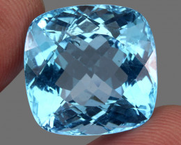 54.59  ct. Natural Earth Mined Blue Topaz Brazil