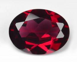Rhodolite Garnet 1.69 Cts Unheated Natural Cherry Red Gemstone