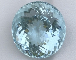 17.17ct Blue Aquamarine With Excellent Luster And Fine Cutting Gemstone