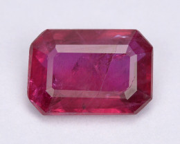 *No Reserve* Ruby 0.77 Cts  Pigeon Blood Color Natural Ruby Gemstone