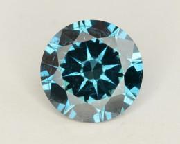 Diamond 0.40 ct Magnificent  Blue Color & Top Brilliance -SKU-18