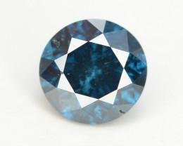 Diamond 0.45 ct Magnificent  Blue Color & Top Brilliance -SKU-19