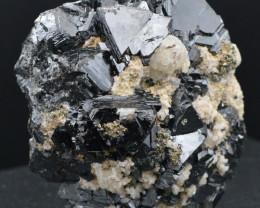 Marmatite & Pyrite & Quartz 300 grammes - Mexique
