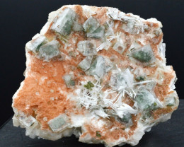 Apophyllite & Stilbite scolecite 427 grammes - Ahmednagar , Inde
