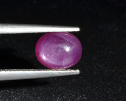 Natural Ruby Cabochon 3.83 Cts from Guinea