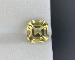 Scapolite 1.95 ct  Natural Yellow Color Scapolite