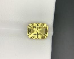 Scapolite 2.30 Ct  Natural Yellow Color Scapolite