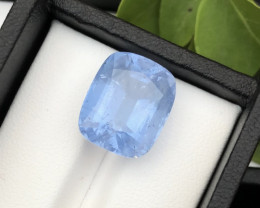 Top Grade 13.90 ct lovely Aquamarine Ring Size~RS