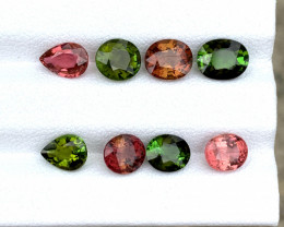 No Reserve 6.30 Cts Natural mix color Tourmaline parcel Gemstone
