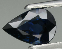 1.40 ct Natural Earth Mined Unheated Blue Sapphire, Nigeria