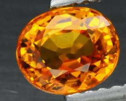 1.32 ct  Natural Earth Mined Yellow Sapphire Songea, Tanzania