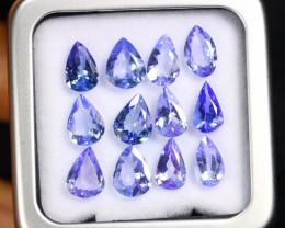 8.92cts Natural Tanzanite Gemstone LOTS / AAKL1665