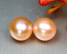 Akoya Pearl 3.75Ct Japan Akoya Golden Orange Pearl SF301