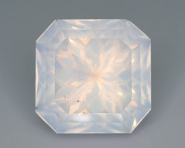 Rare Peach Pink 17.70 ct Feldspar Moonstone~Fancy Cut~R