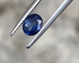 ~NR~HGTL Certified 0.76 Carats Natural Sapphire Nice Cut Gemstone