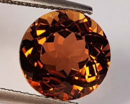 4.90 Ct Top Quality Round Cut Natural Champagne Topaz