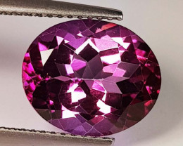6.20 Ct Top Quality Oval Cut Natural Pink Topaz
