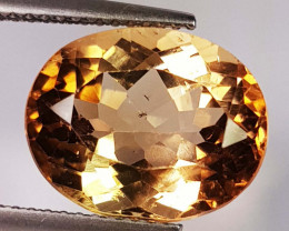 8.63 Ct Top Quality Oval Cut Natural Champagne Topaz