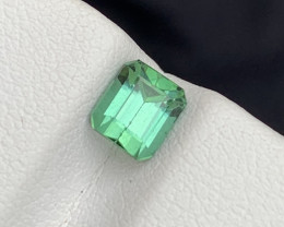 1.10 carats bluish Green colour Tourmaline Gemstone From  Afghanistan