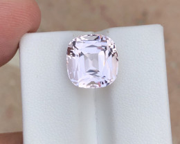 Fantastic Soft Pink Color 7.55 Ct Top Morganite Piece From Brazil