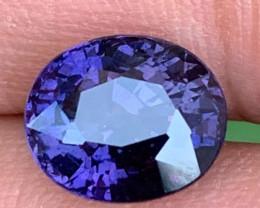 Elegant 6.177 Carats Natural Colour Change Sapphire
