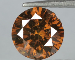 0.18 Cts Untreated Fancy Reddish Brown Natural Diamond