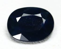 Sapphire 1.51Ct VS2 Oval Cut Natural Australian Blue Sapphire SG472