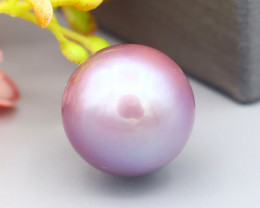 9.33Ct Exceptional Metallic Lavender Rainbow Color Edison Pearl SF488