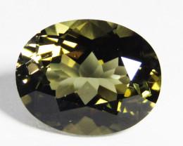 4.12Cts Natural Amazing Green Tourmaline 11X9mm Loose Gemstone