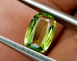 0.89Crt Peridot Natural Gemstones JI77