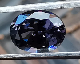 Spinel, 0.91ct, the colour is between light purple, pink and blue but cuts!