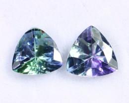 2.00cts Natural Tanzanite Gemstone Pairs / JKL1675