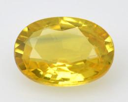 Yellow Sapphire 1.01 Cts Fancy Ceylon Sapphire Loose Gemstone