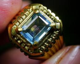40.70 CT Natural Octagon Light Blue Aquamarine Jewelry