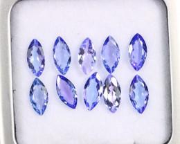 3.67cts Natural Tanzanite Gemstone LOTS / AAKL1692