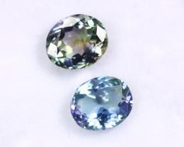 2.51cts Natural Tanzanite Gemstone Pairs / JKL1704