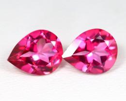 Pink Topaz 3.76Ct VS Pear Cut Natural Vivid Pink Topaz SC851