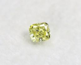 Yellow Diamond 0.15Ct Natural Untreated Genuine Fancy Diamond BM695