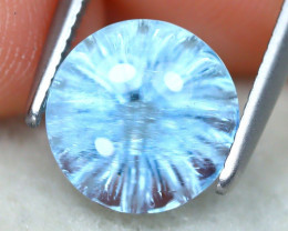 Aquamarine 2.48Ct VVS Fancy Cut Natural Blue Color Aquamarine SE292