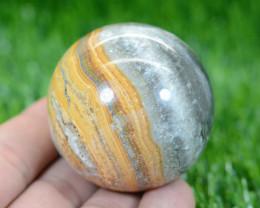 910 CTs Beautiful  Jasper Healing Sphere From Pakistan
