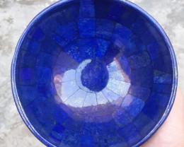 ~NR~3070 Carats Natural Lapis Lazuli Bowl From Badakhshan Afghanistan