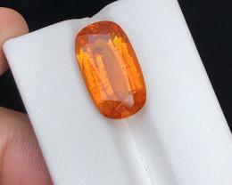 Lovely Fanta Orange Color 12.60 Ct Spessartite Garnet ( Mandarin )