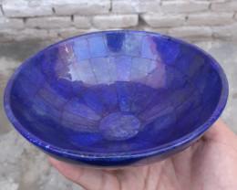 2680 Carats Natural Lapis Lazuli Bowl From Badakhshan Afghanistan