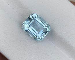 3.51 carat Natural Aquamarine gemstone.