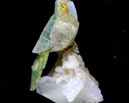 111CTS FLOURITE CARVED BIRDS FROM PERU    LT-28 lightningtreasures