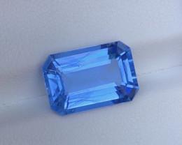5.50Ct Natural Emerald Cut Aquamarine